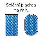 Solární a krycí plachty na bazén.