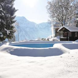 zimni plachta na bazen chajda